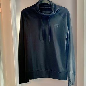 BNWT The North Face Cowl Neck Black Sweater Top